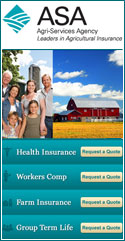 Insurance solutions to farmers and their families. Our agents can help you with individual and family life insurance, workers compensation, group term life insurance, and of course, your business farm insurance.