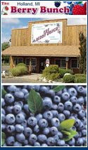 We carry jams, preserves, sauces, syrups, and candies, as well as a variety of soaps, fragrances, and candles. We roast all of our own coffee and add flavorings of many varieties. We also offer gift cherriesbaskets for many occasions. In the fall we offer Bog Tours on Saturdays so that people can see first-hand just how cranberries are grown and harvested.