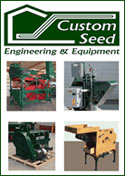 Engineering and Manufacturing company serving the seed processing and other industries with solution based designs and quality products