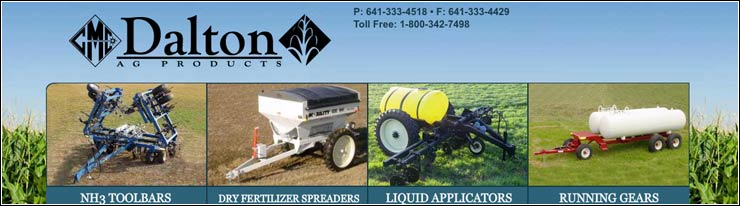 manufactures and sells fertilizer application equipment including anhydrous (NH3) toolbars, dry fertilizer spreaders, liquid nitrogen applicators, running gears for anhydrous nurse tanks, and agricultural trailers