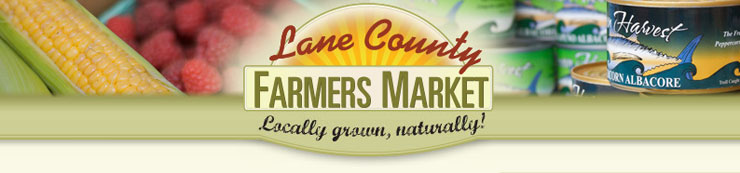 Lane County Farmers Market, a vibrant gathering place to shop for locally grown produce and products.
