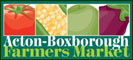 vegetables, fruits, cheeses, meats, seafood, pasta, honey, breads, flowers, baked goods, bagels, and specialty products such as local wines, jams, condiments, nuts, teas, handmade soaps, and plants for the home garden