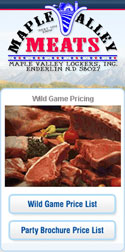 Valley Meats has always taken pride in doing the very best job in processing wild game