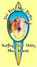 Surfing Goat Dairy represents one of only two goat dairies in the state